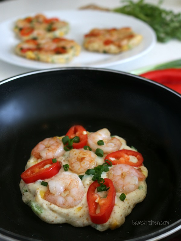 IGluten-Free Thai Shrimp Pancakes - Bam's Kitchen