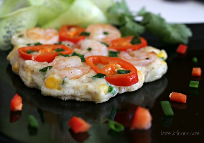 Gluten-Free Thai Shrimp Pancakes - Bam's Kitchen