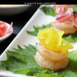 Shrimp Boats with Pickled Radish / https://www.hwcmagazine.com