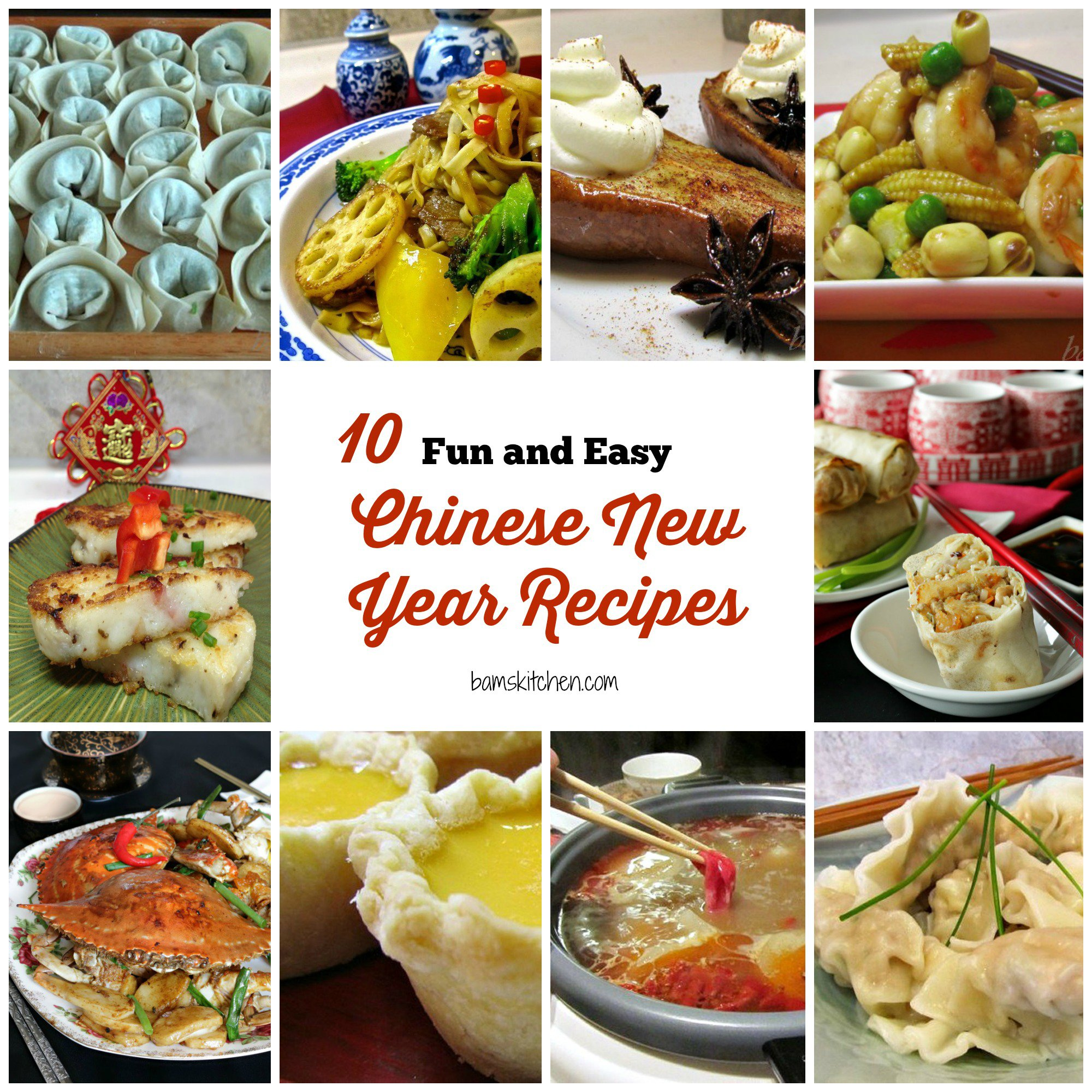10 Fun and Easy Chinese New Year Recipes- Healthy World Cuisine