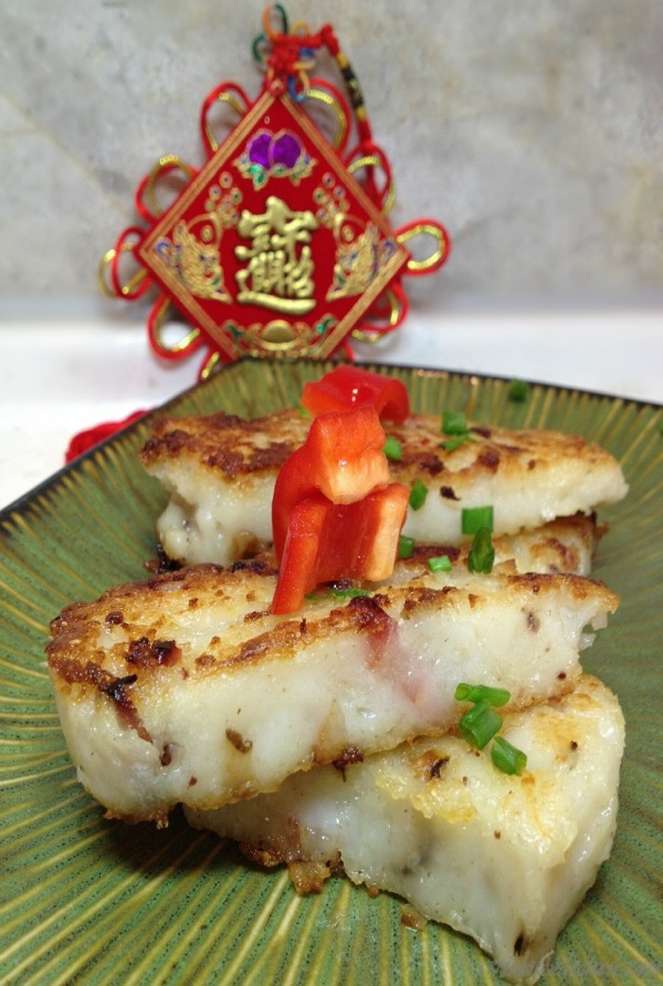 Chinese radish New Year Cake - Healthy World Cuisine
