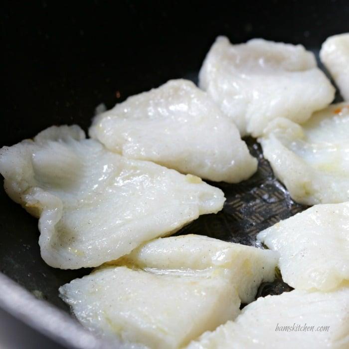 Ginger Chili Fish Stirfry/ https://www.hwcmagazine.com/@bamskitchen