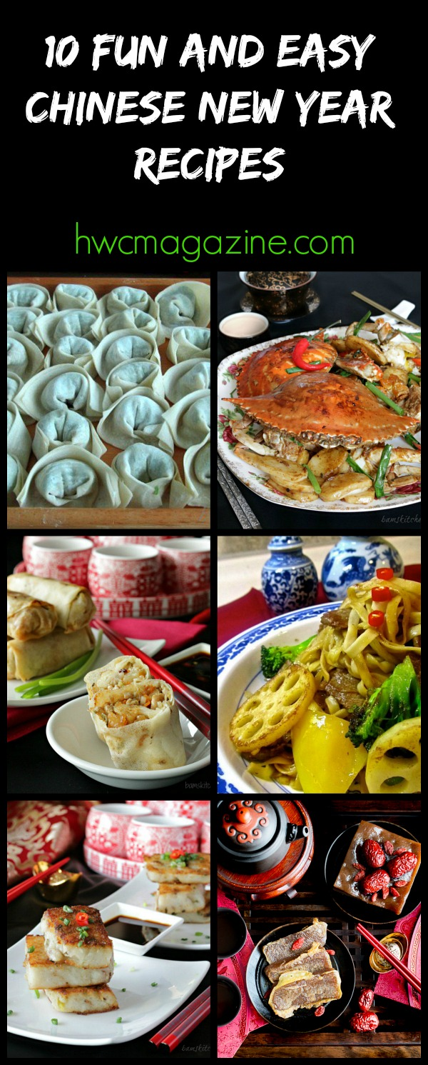 10 Fun and Easy Chinese New Year Recipes / https://www.hwcmagazine.com