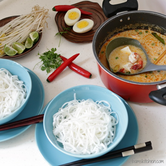 Singapore Laksa/ http://bamskitchen.com