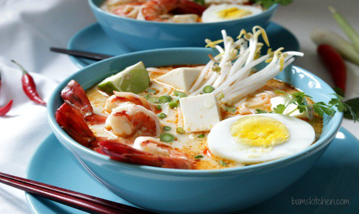 Guest Post - Gluten-Free Coconut Curry Laksa