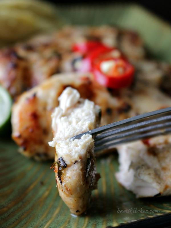 Thai Grilled Chicken Tenderloins and Zesty Dipping Sauce / https://www.hwcmagazine.com
