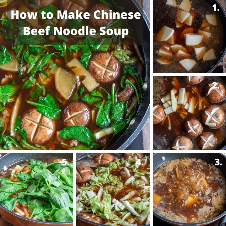 How to Make Chinese Beef Noodle Soup Recipe.