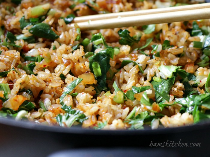 Kimchi Pantry Fried Brown Rice / http://bamskitchen.com