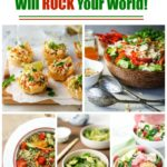 10 + Amazing Salads that are going to rock your world roundup.