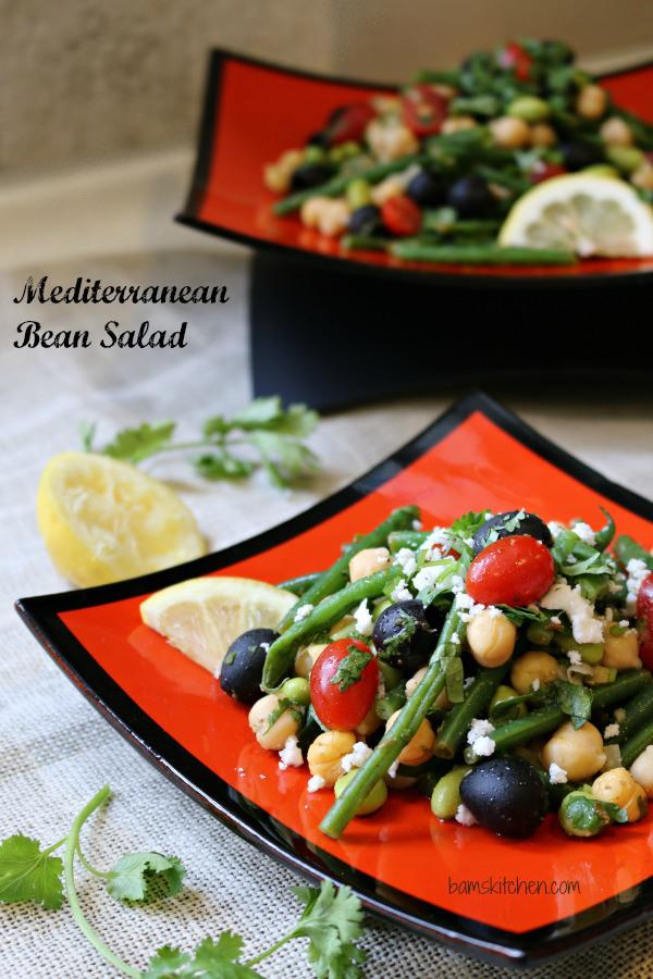 Mediterranean Bean Salad / http://bamskitchen.com