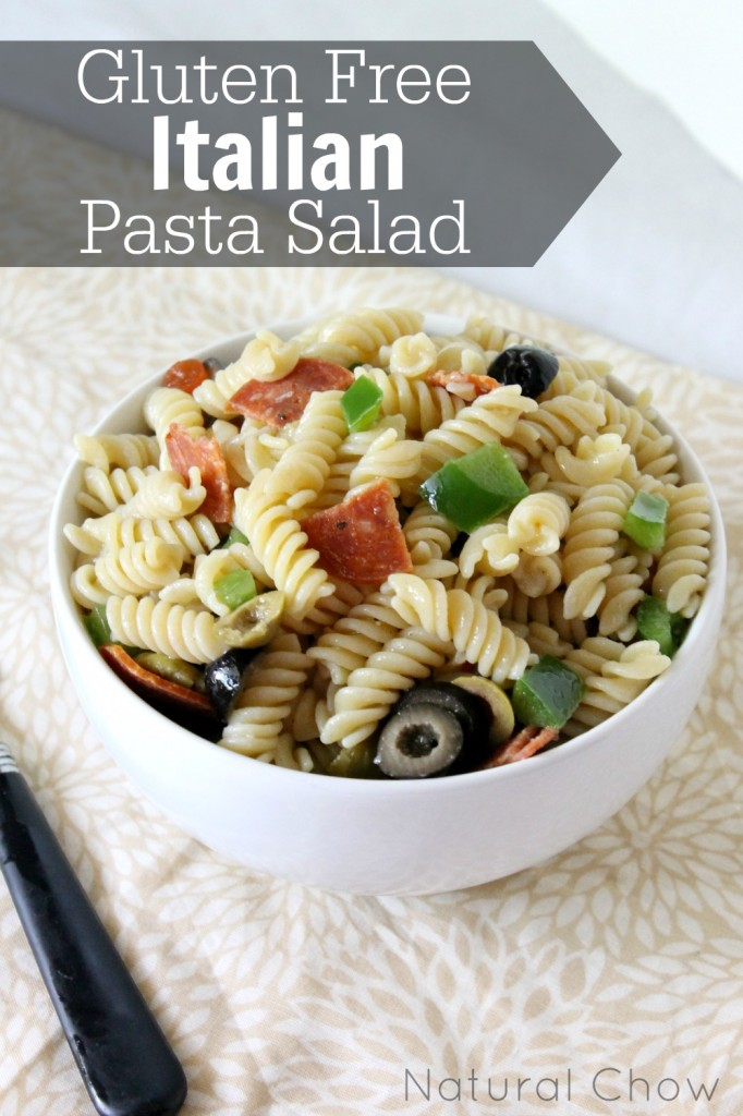 Gluten Free Italian Pasta/ Natural Chow