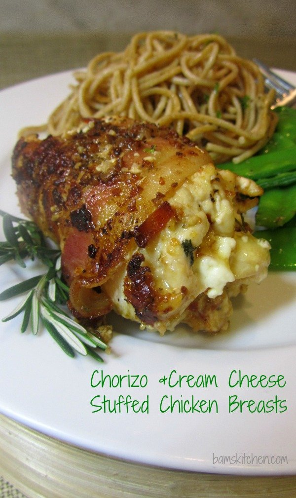 Chorizo and cream cheese stuffed chicken breasts_IMG_8675