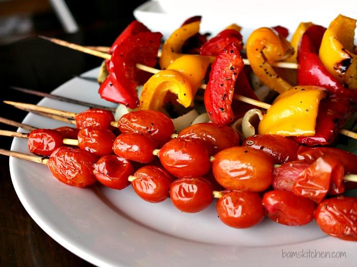 Flame Kissed Tomato Pesto Tapas / https://www.hwcmagazine.com