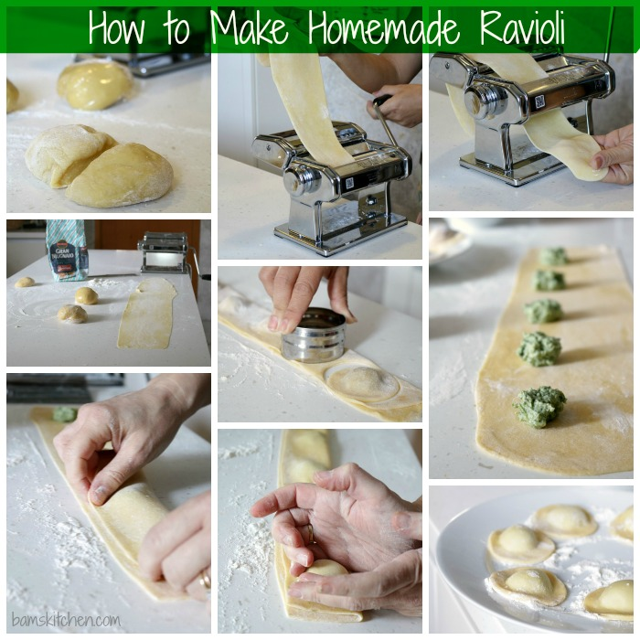 How to Make Homemade Ravioli / https://www.hwcmagazine.com