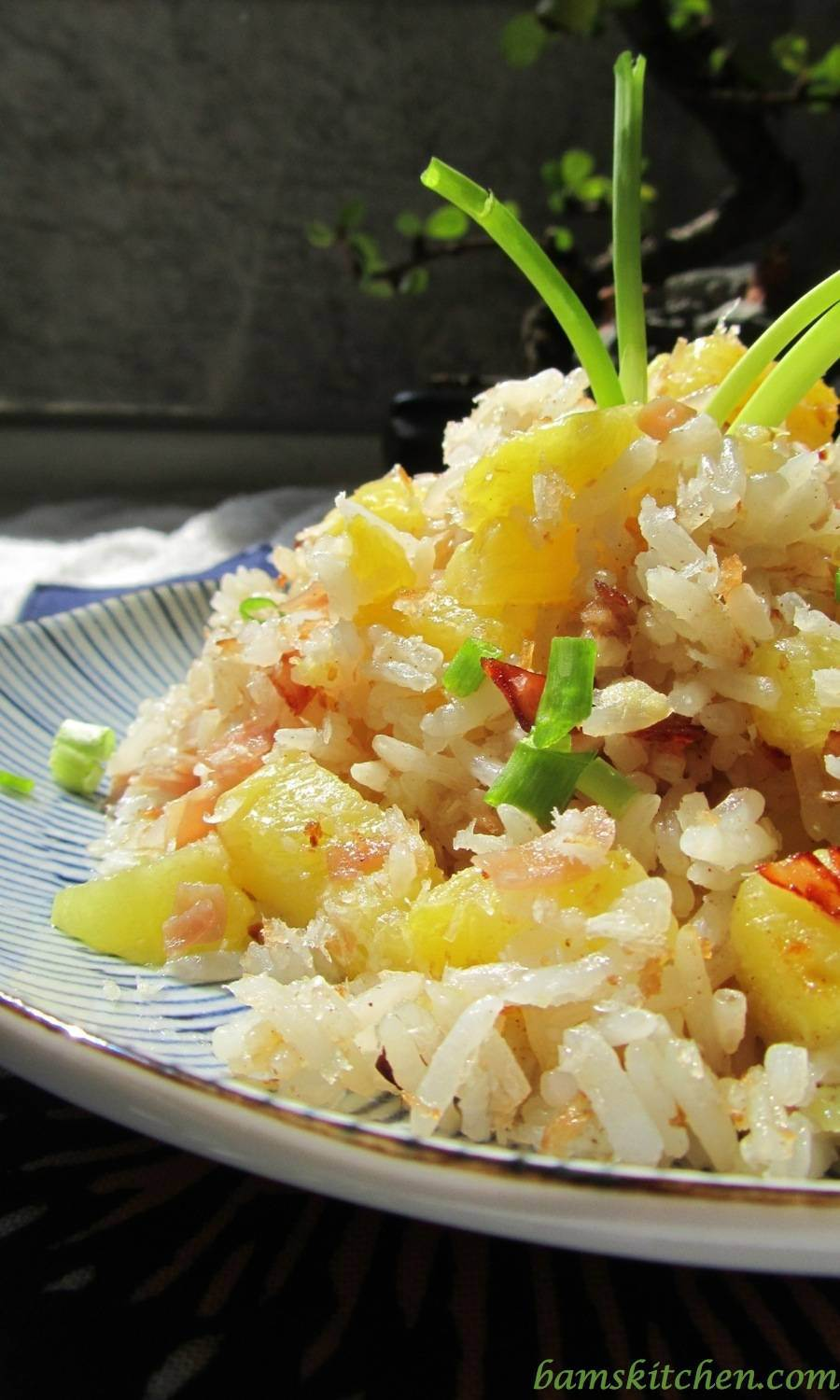 Hawaiian Luau Rice / http://bamskitchen.com