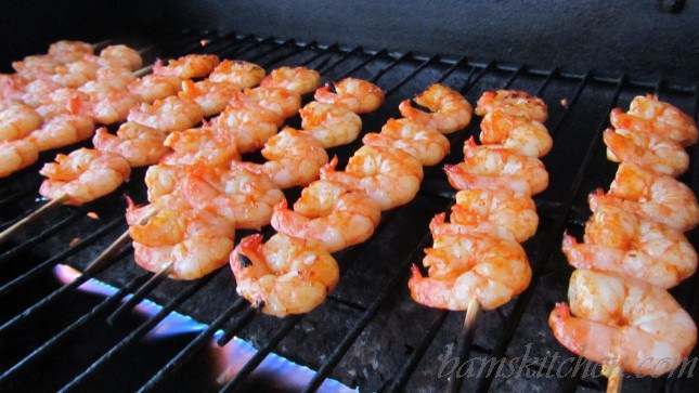 Firecracker Grilled Shrimp / http://bamskitchen.com
