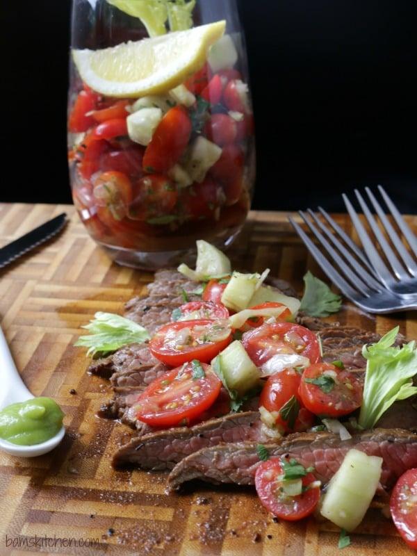 Bloodied Married Flank Steak / https://www.hwcmagazine.com