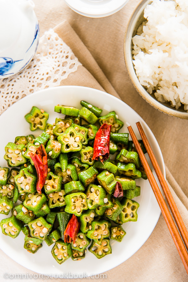 how to cook okra healthy