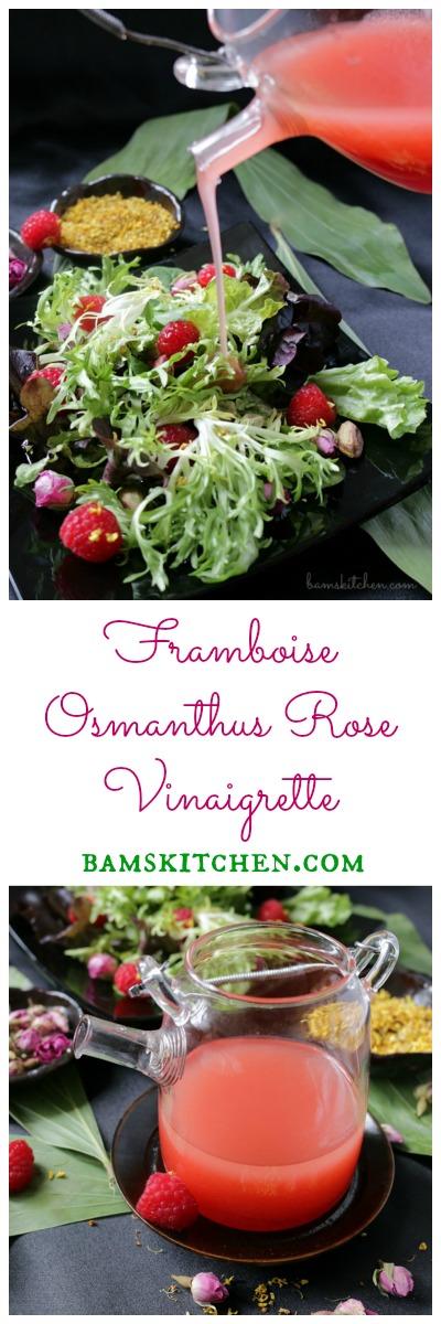 Framboise Osmanthus Rose Vinaigrette / https://www.hwcmagazine.com