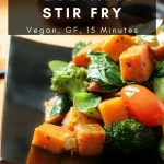 Spiced Yam & vegetable stir fry / https://www.hwcmagazine.com