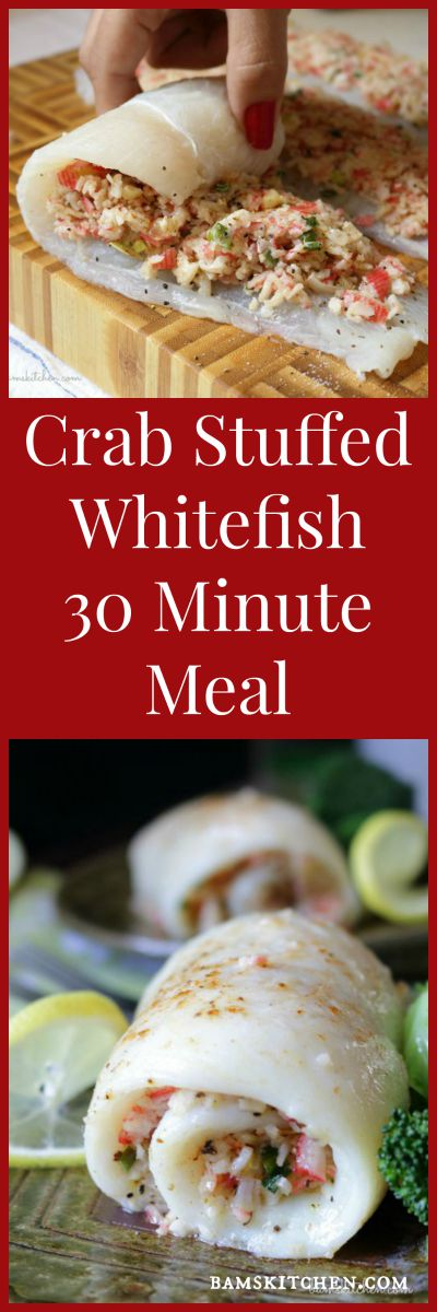 Crab Stuffed Whitefish / https://www.hwcmagazine.com