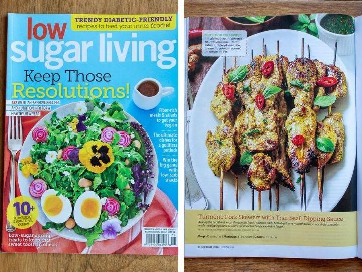 Low Sugar Living Magazine