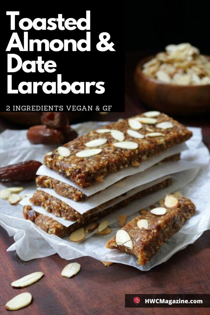Toasted Almond & Date Larabars / https://www.hwcmagazine.com