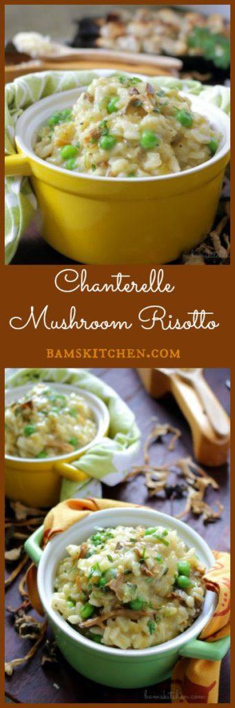 Chanterelle Mushroom Risotto / https://www.hwcmagazine.com