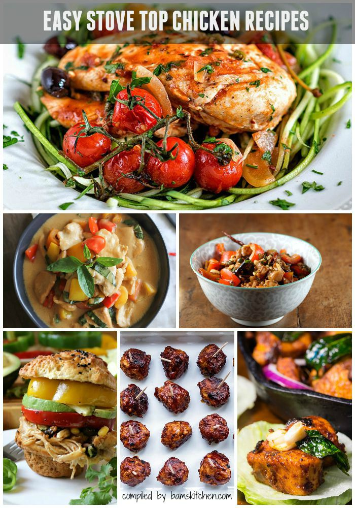 Easy Stove Top Chicken Recipes roundup