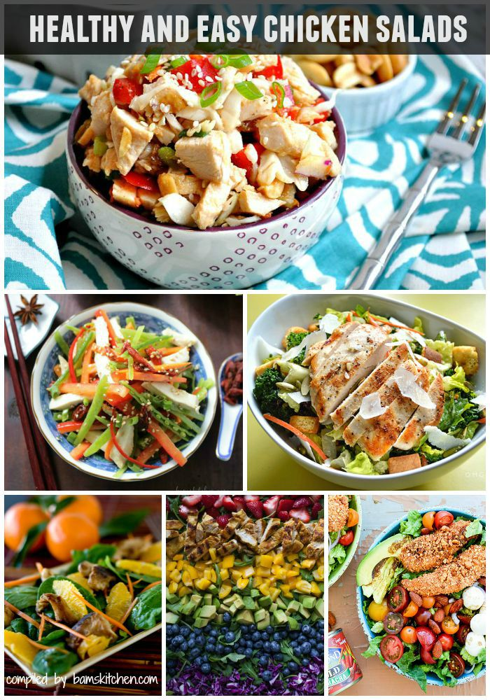 70 + Healthy and Easy Chicken Recipes / http://bamskitchen.com