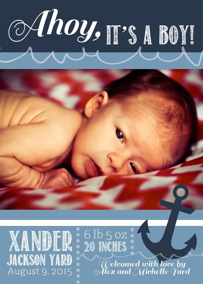 Baby Xander /http://bamskitchen.com