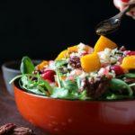 Festive Autumn Salad/ https://www.hwcmagazine.com