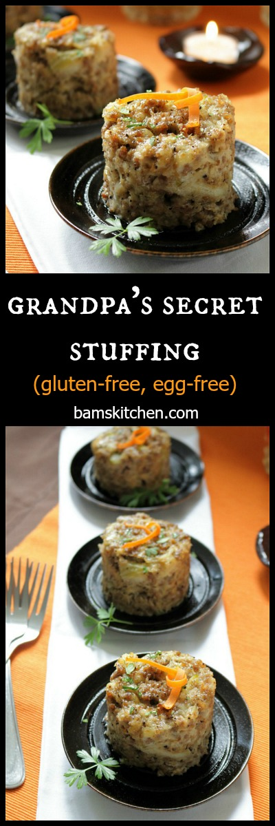 Grandpas Secret Stuffing / http;//bamskitchen.com