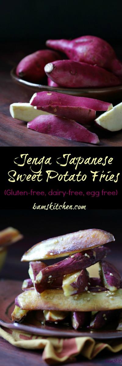 Jenga Sweet Potato Fries / http://bamskitchen.com