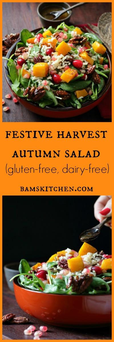 Festive Autumn Salad / https://www.hwcmagazine.com