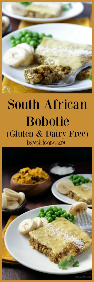 South African Bobotie / http://bamskitchen.com