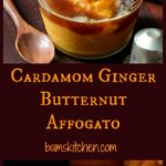 Cardamon Ginger Butternut Affogato/ https://www.hwcmagazine.com