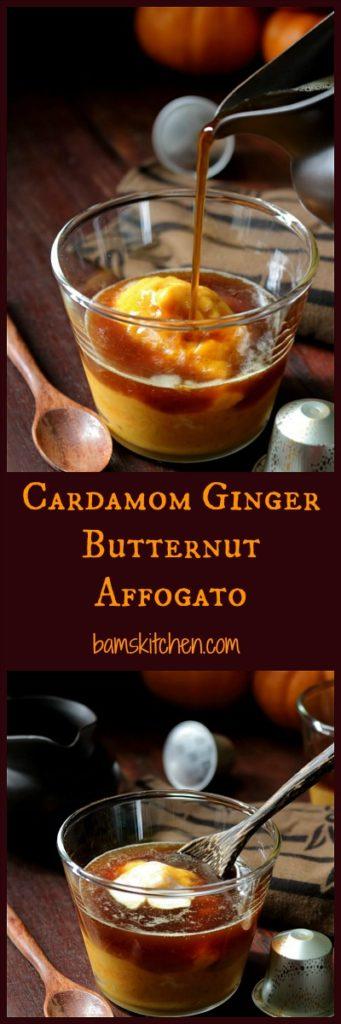 Cardamon Ginger Butternut Affogato/ https://www.hwcmagazine.com