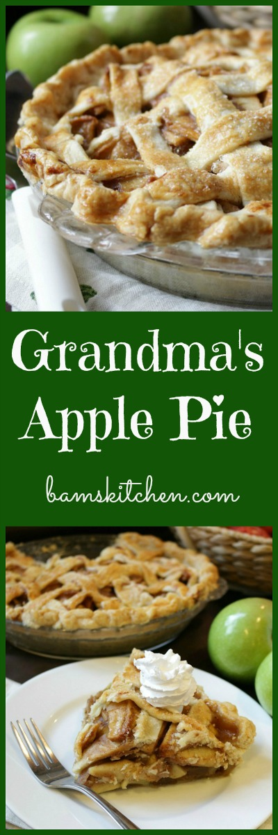 Grandmas Apple Pie / https://www.hwcmagazine.com