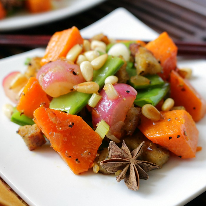 Orange Sweet Potato Stir Orange Sweet Potato Stir Fry / https://www.hwcmagazine.com / https://www.hwcmagazine.com