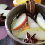 Warmed Spiced Apple Cider. Cranky Guests? Spike with Rum.