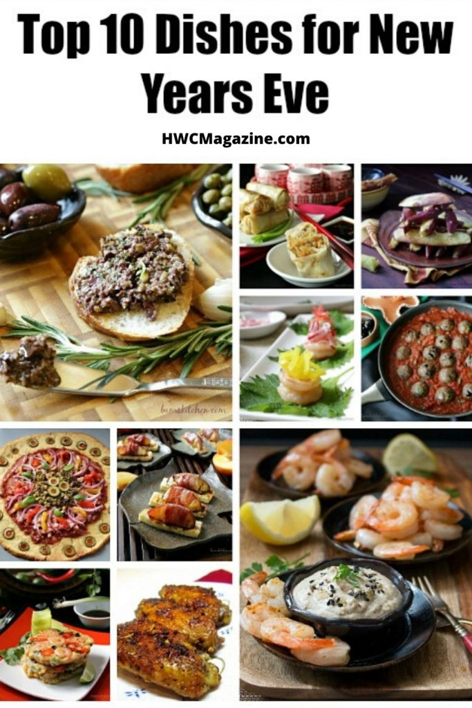 Top 10 Appetizers for New Years Eve / https://www.hwcmagazine.com