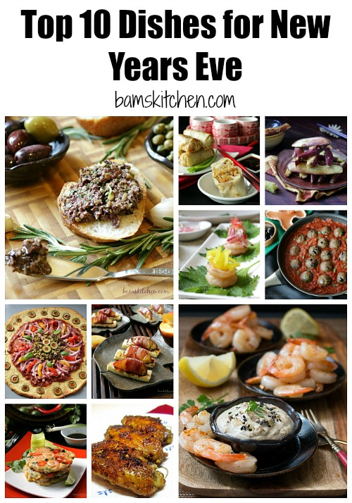 Top 10 Dishes for New Years Eve / http://bamskitchen.com