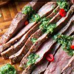 Grilled Flank Steak with Thai Chimichurri / https://www.hwcmagazine.com