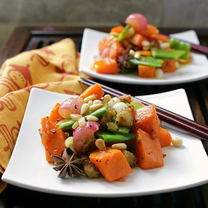 Orange-Sweet-Potato-Stirfry / http:://bamskitchen.com