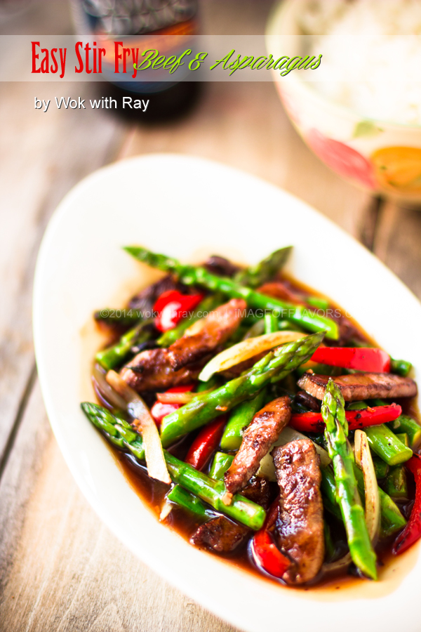 Beef-Asparagus / Wok with Ray