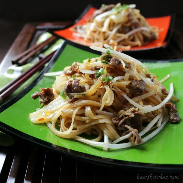 Beef-Noodles-and-Spicy-XO-Sauce / http:://bamskitchen.com