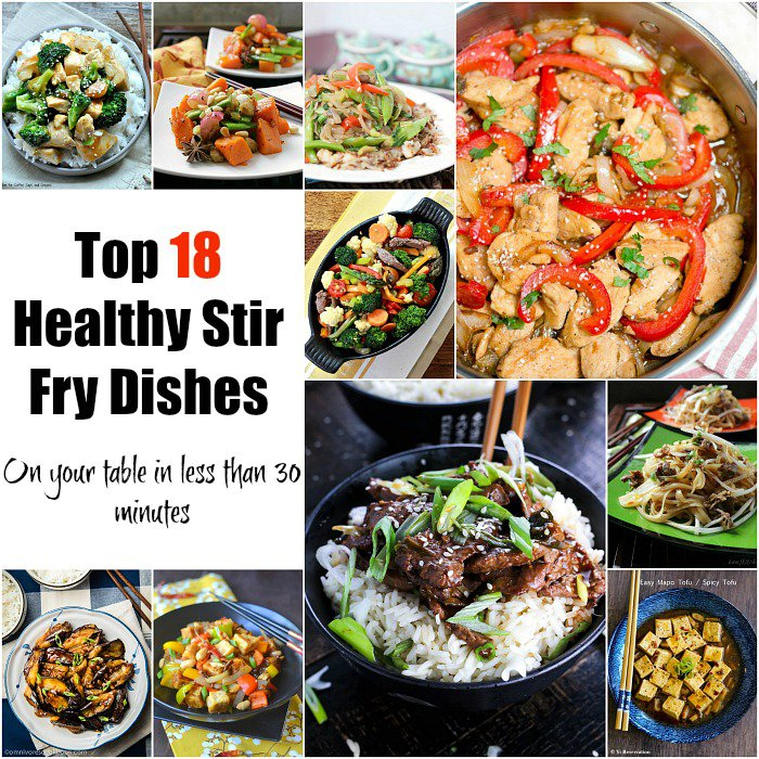 Top 18 Healthy Stir Fry Dishes / https://www.hwcmagazine.com