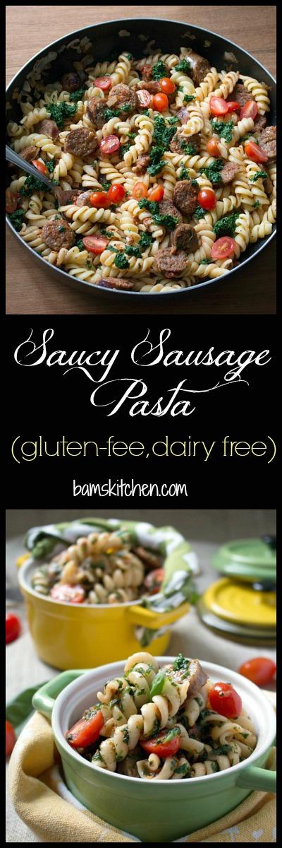 Saucy Sausage Pasta / https://www.hwcmagazine.com
