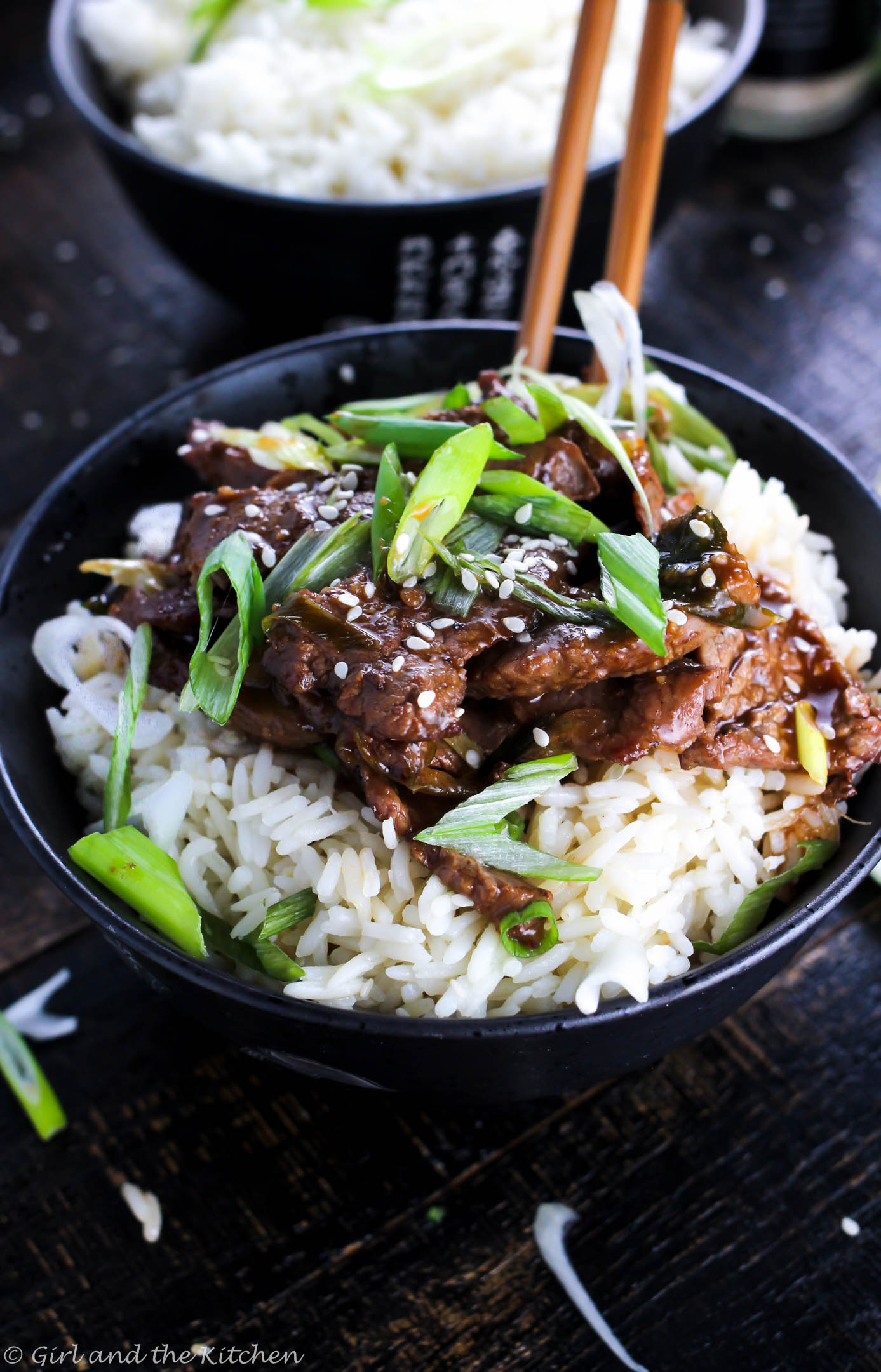 Skinnier-PF-Changs-Mongolian-Beef-Recipe / Girl in the Kitchen